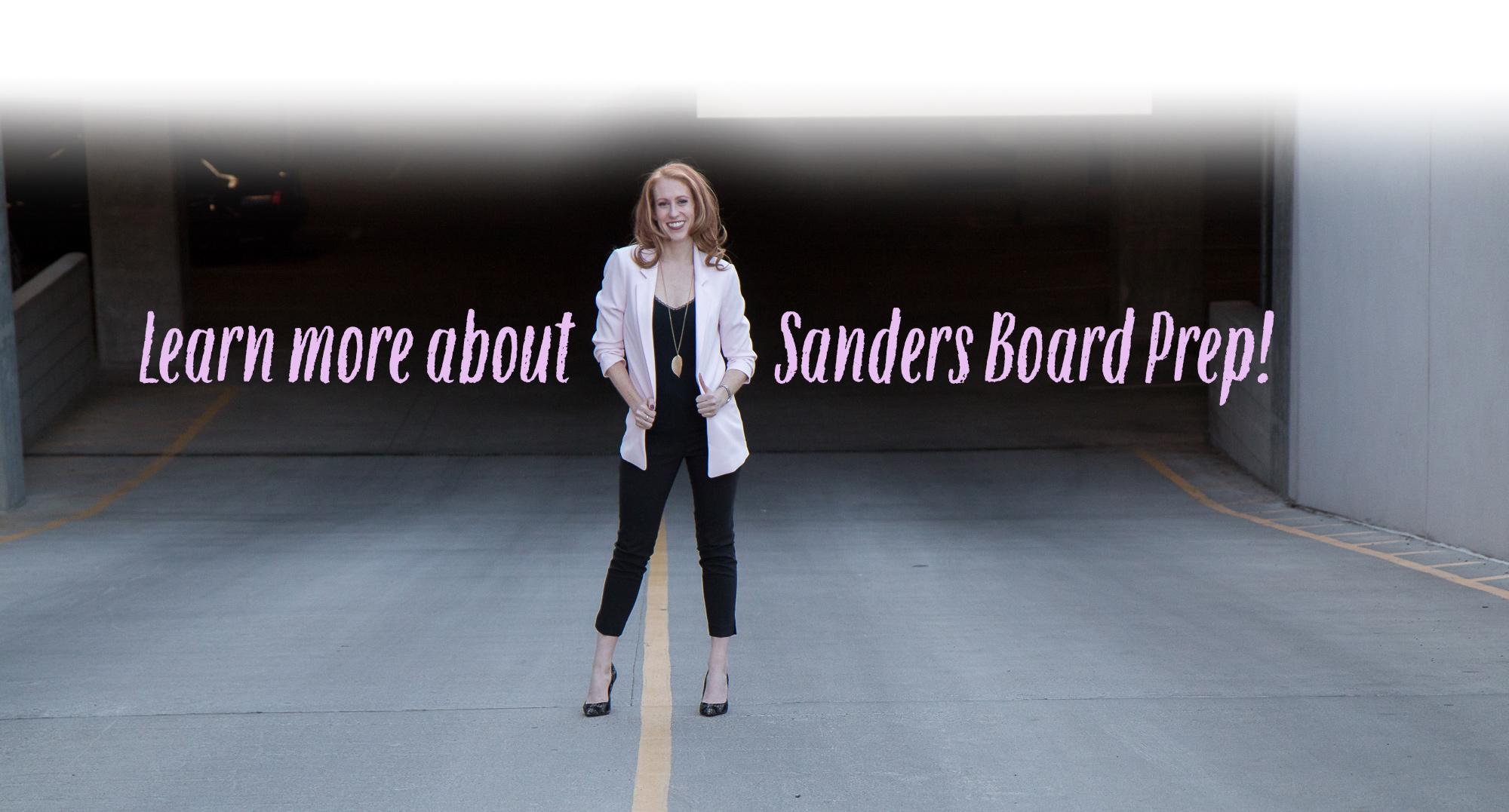 sanders board prep