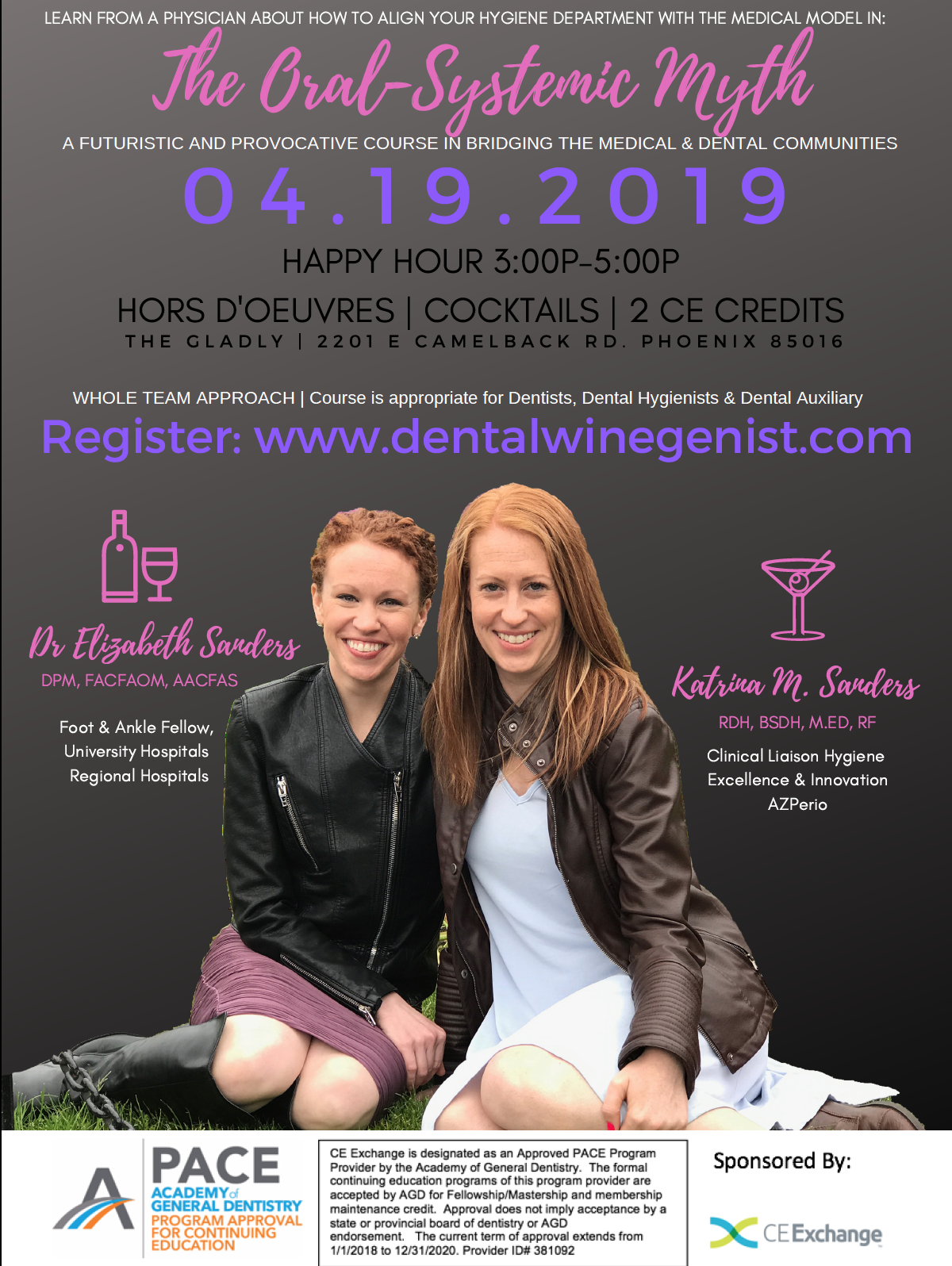 Dental Winegenist CE course by Katrina Sanders